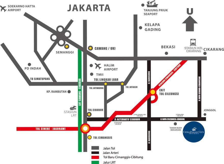 maps citraindahcity