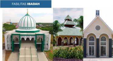 Citra Indah City Sarana Ibadah