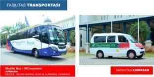 Citra Indah City Transportasi